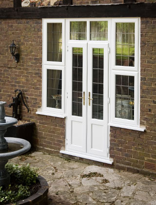Stylish-white-PVC-U-French-Doors