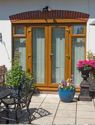 Stylish-wood-effect-French-Doors