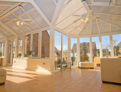 Conservatories – Light & Airy!