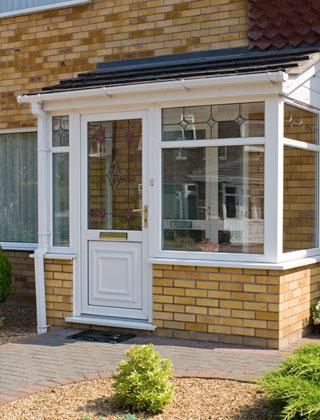 Doors – Elegant & Secure white PVC-U Door and Matching Windows