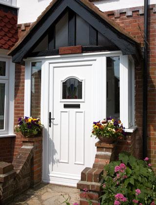 Doors – Golden Oak UPV-C Residential Door