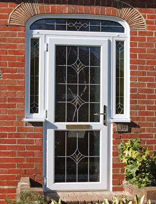Doors – Leaded Glass Inserts Ad a Touch of Style