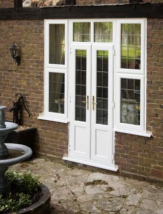 Doors – Stylish White PVC-U French Doors