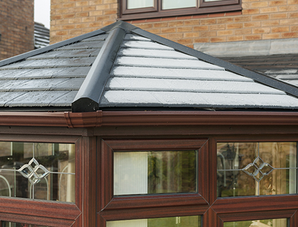 Garden Rooms – Detail of Roofing Finish